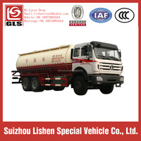 3 axles 6*4 Pneumatic Cement-discharging Tanker for Oil Field Special Truck For Fuel Well