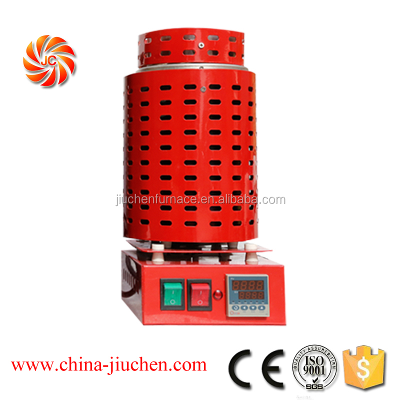 2kw Casting Refining melting furnace for Precious Metals gold