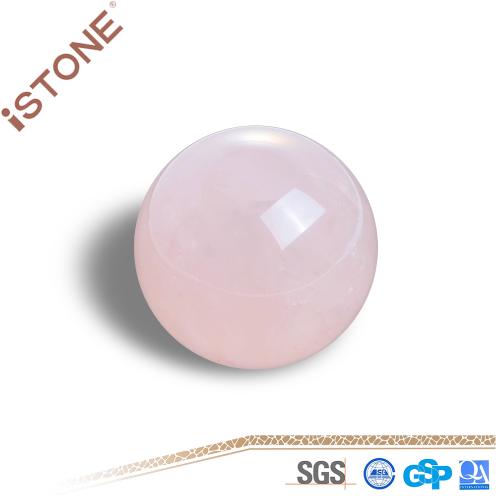 High Quality Rose Quartz Crystal Ball For Home Decoration
