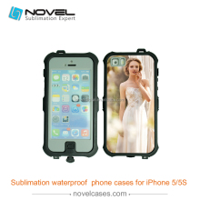 High quality waterproof cell phone case for iPhone5