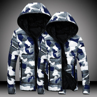 Men camouflage down jacket for the winter M/XL/2XL/3XL
