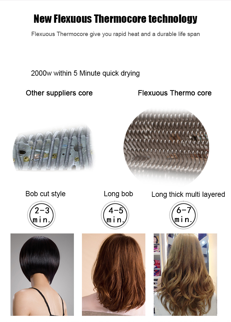 Salon equipment high quality AC ion hair dryer oem in positive and negative ion led indicator