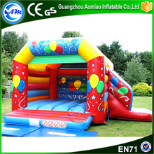 2016 Hot sale PVC inflatable jumping bouncer / bouncer slide / bouncy castle