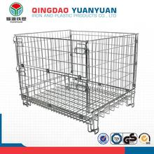 Top grade metal storage rack, logistics wire basket cage, high quality wire animal cages