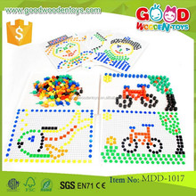 Hot selling wooden beads sets OEM high quality teaching sets toys educational Beads set teaching toys MDD-1017