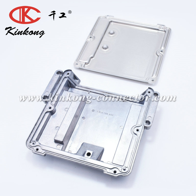 154 pin waterproof auto car electrical Aluminum Enclosure ECM PCM case