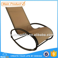 Comfortable outdoor lounge chairs, garden chaise lounge, patio sun lounger