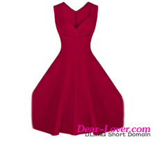 Sexy Burgandy Sweetheart Neck Retro Collar wholesale clothing in peru