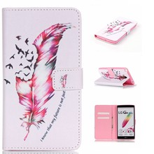 Custom wholesale IMD craft printed TPU leather Phone Case For LG ls770,case cover with stand function card holder