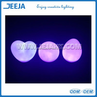 Remote controlled Battery operated heart shaped led light decoratin light