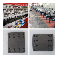 Brake Shoes Type and TS16949/ISO9001 trailer Brake Lining
