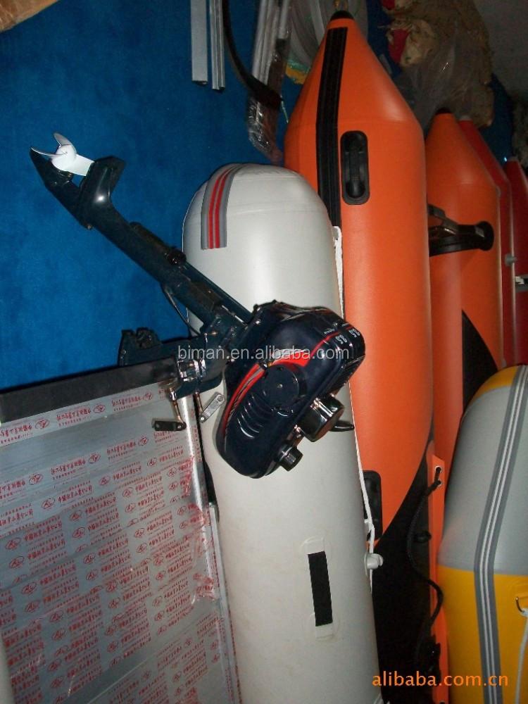 бензиновый или электрический лодочный мотор