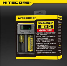 Nitecore lion new i2 imr lcd universal 18650 battery charger 3.7v