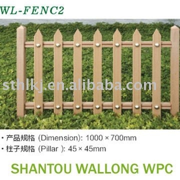 wood plastic composite handrail,wpc fencing