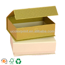 Flip Top Boxes With Magnetic Catch for jewelry packaging