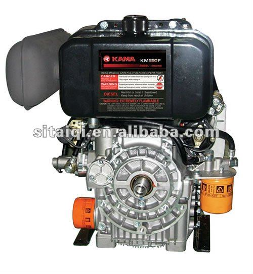 KAMA cheap twin cylinder diesel engine