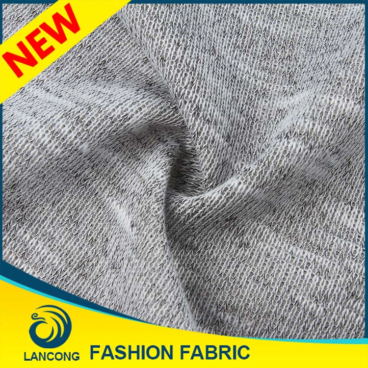 New Products Low price Knit cvc dry fit fabric supplier in china fabric for custom sweater