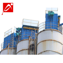 cement horizontal silo filter baghouse