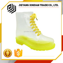 Ladies short rubber rain boots garden fashion rain shoes