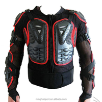 Motocross body armor rain wear removable back armor