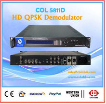 COL5811D satellite receiver tv demodulator,dvb-s2 qpsk 8psk demodulator hd ird
