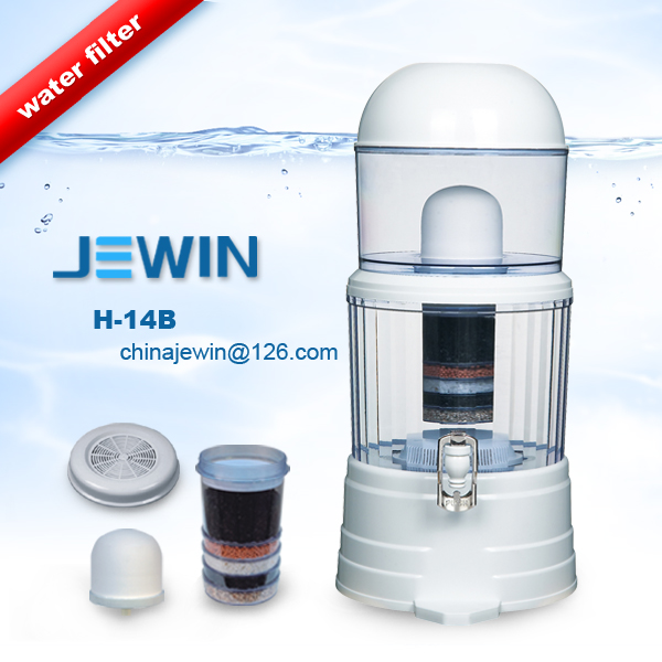 14L Ceramic activated carbon water filter