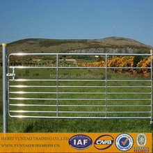 Aluminum iron mesh fence gate / metal livestock farm fence panel / invisible pool fencing