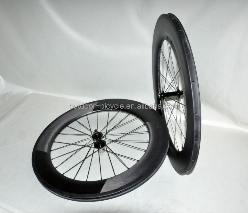 86mm clincher wheels, road bike wheelset, full carbon road bicycle rims