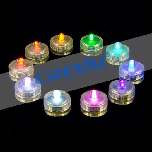 long lasting battery operated RGB color changing led tea candle lights for party decoration