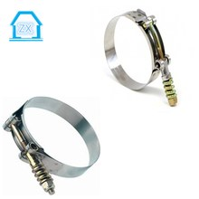 "1.38""-1.57"" (35mm-40mm) for 1-1/8"" 28mm hose Stainless Steel T-Bolt Clamp"