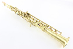 The Best Musical Gifts One Tube Golden Drawing Craft Soprano Saxophone Cases, Classical Woodwind Instruments