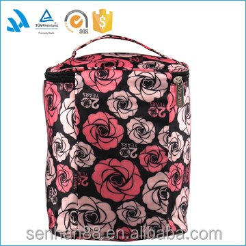 Eco recycled cheap fashion hot sell custom cosmetic pouch wholesale