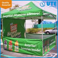 Outdoor trade show advertise fold easy folding canopy tent