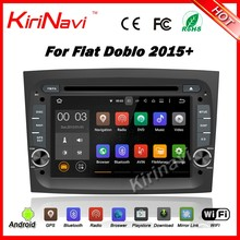 KiriNavi WC-FD7015 android 5.1 car multimedia for fiat doblo 2015+ dvd player navigation radio stereo wifi & 3G
