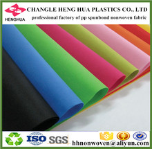 Assorted color polypropylene non woven fabric raw material for shopping bag.