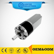 Brush high quality Ice cream machine 24v 12v dc gear motor