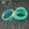 Debossed collor filled custom silicone wrist band, silicone bracelet Rubber wristbands for gift