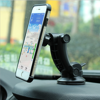 360 rotate car dashboard windshiled long neck silicone sucker security display magnetic mobile phone holder bracket for iphone x