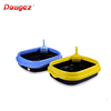 Factory supply luxury Cat Litter Tray , high quality cat litter toilet / box with scooper