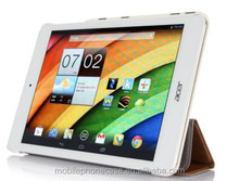 White colour Smart cover Fuction case for Acer A1-830, Various Colors Available,