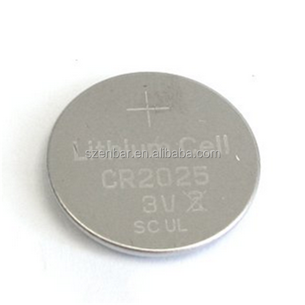 Pin type battery CR2025 watch button battery cr2030 cr2016