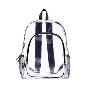 Fashion Waterproof Clear PVC Backpack Transparent Backpack for Students