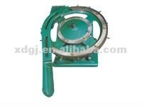 tin can end lid curling making machine for can cover