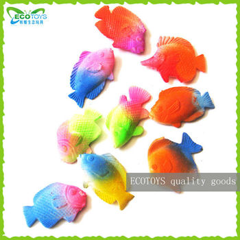 Tropical fish growing toy children toys little fish toys for Little fish toys