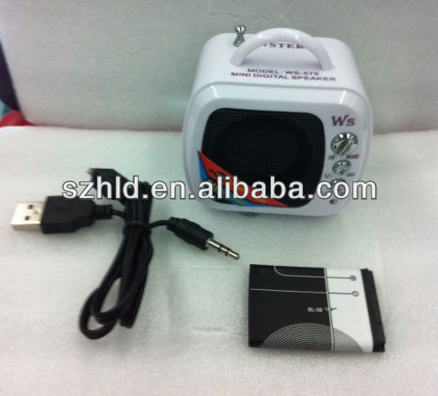 New product portabe mini mp3 speaker