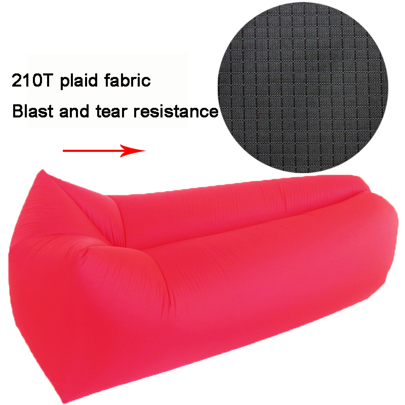 Outdoor Hangour Sleeping Air Bed <strong>100</strong>% Nylon ripstop material Ripstop inflatable beach lounger