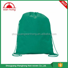 Durable wholesale cheap draw string bag with tag/mesh drawstring laundry bag