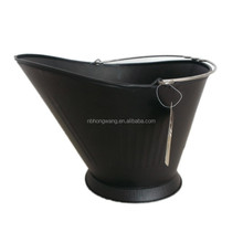Factory Coal hod bucket/Galvanized steel bucket/fireplace accessory
