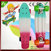 2015 hot selling original plastic skateboard board skateboards