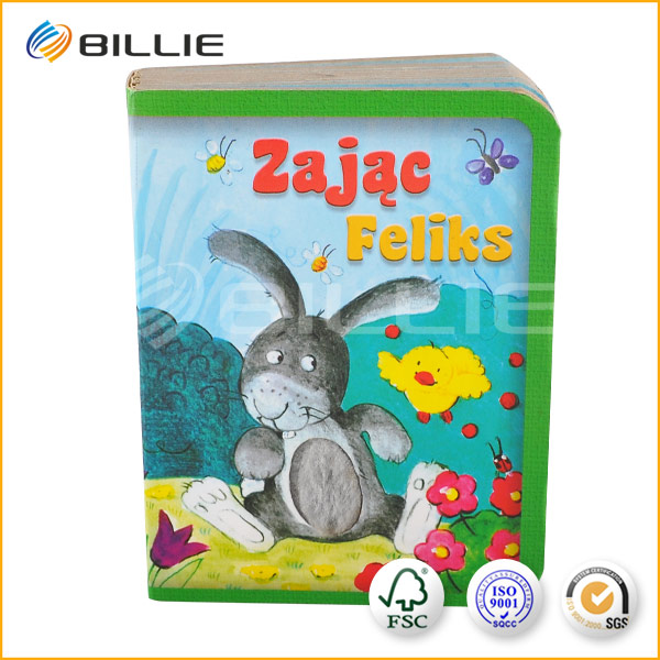You Must Buy BILLIE Color Children Cardboard Book Printing
